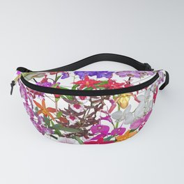A celebration of orchids Fanny Pack