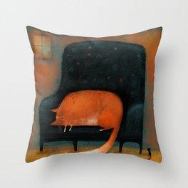 TINY MOUSE Throw Pillow