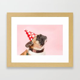 It's the weekend Framed Art Print