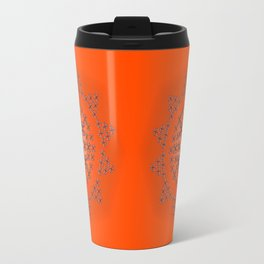 Holloween Crossbones Medallion Travel Mug