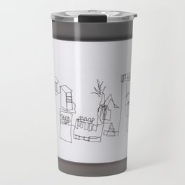 Home Sketch Travel Mug