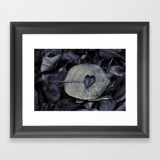 And love is what remains Framed Art Print