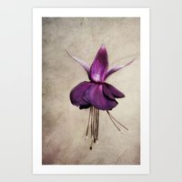 ballerina Art Prints featuring ballerina by lucyliu