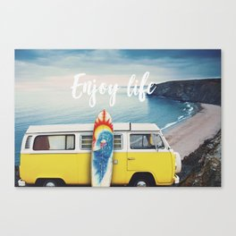 Enjoy life Canvas Print