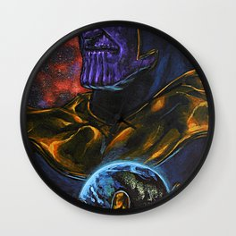 Marvel Thanos Infinity Gauntlet Wall Clock