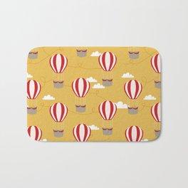 Hot air balloon pattern cute decor for boys or girls room Bath Mat