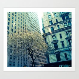 NEW YORK//LIGHT Art Print