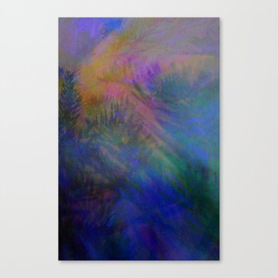 Magical Mystery Lights Canvas Print