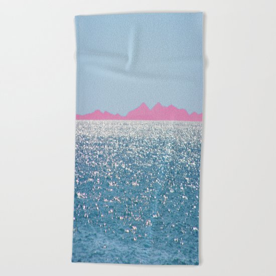 i Sea you Beach Towel