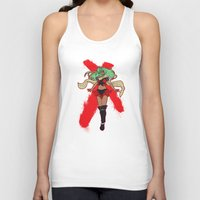android Tank Tops featuring The Android by CaptainSunshine