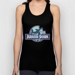 Jurassic Shark - Great White Shark Unisex Tank Top