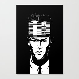 mnemonic_data_glitch_ Canvas Print