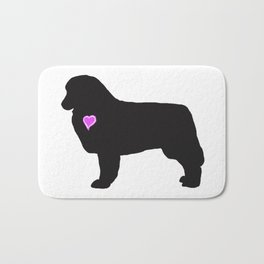 My Australian Shepherd Heart Belongs To You Bath Mat