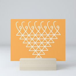Sacred Geometry-Saraswati Yantra-5 Mini Art Print
