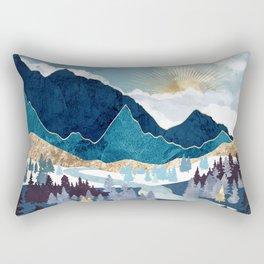 Valley Sunrise Rectangular Pillow