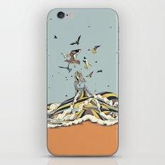 WALK ON THE OCEAN iPhone Skin
