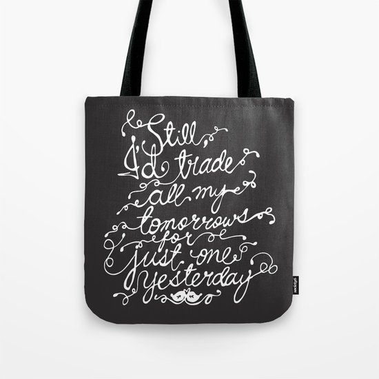 Fall Out Boy - 'Just One Yesterday' Tote Bag