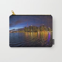 Rainbow city night Carry-All Pouch
