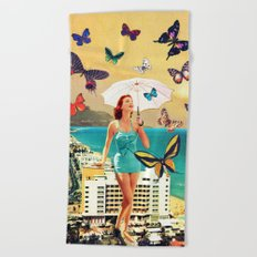Petaloudes Beach Towel