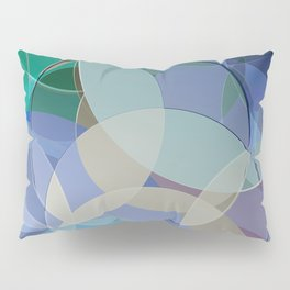 Abstract Composition 627 Pillow Sham