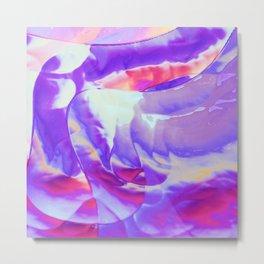 Breezy purple Metal Print