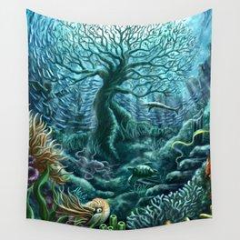 Undersea Witness Wall Tapestry