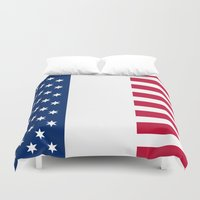 france Duvet Covers featuring france by ovisum