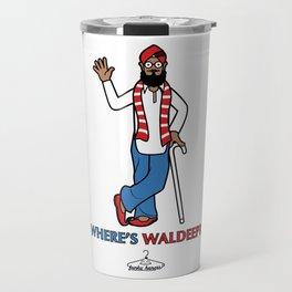 Where's Waldeep? Travel Mug