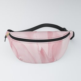 Precious Pink Folds of a Flower Fanny Pack