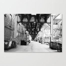 under the elevated Canvas Print