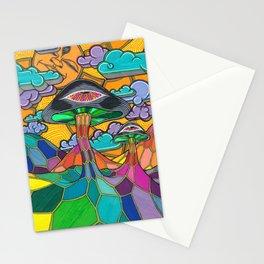 Mycelial Sundaze Stationery Cards