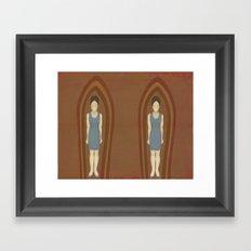 Towering Framed Art Print