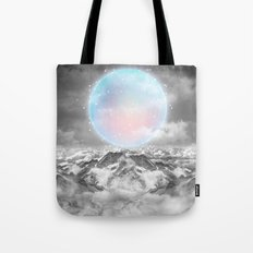 Places Neither Here Nor There (Guardian Moon) Tote Bag