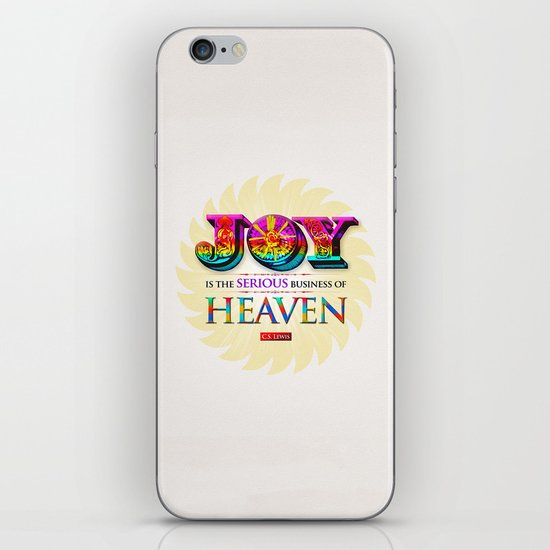 Serious Joy iPhone & iPod Skin