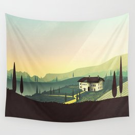 Tuscany Fairytale Wall Tapestry