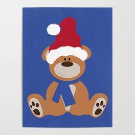 Santa's Teddy Poster