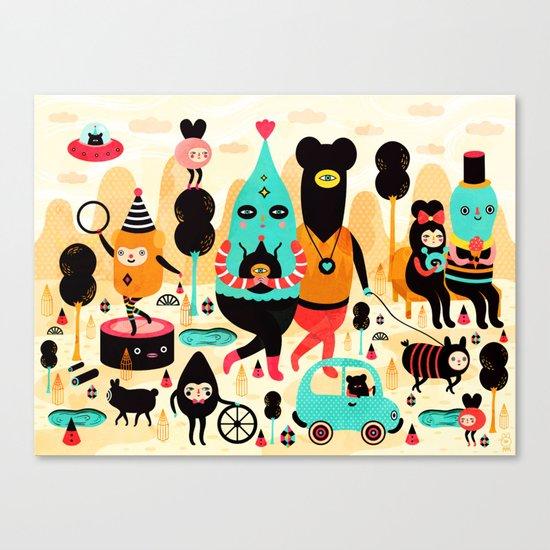 Sunday! Canvas Print