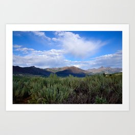 Move Mountains Art Print
