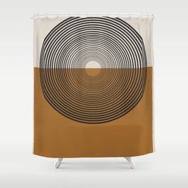 Mid Century Style, Retro  Shower Curtain