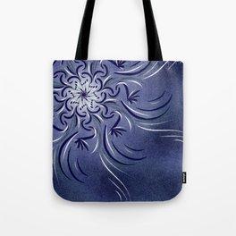 Lavender Flourish Tote Bag