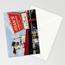 Old burger restaurant in Austin Stationery Cards