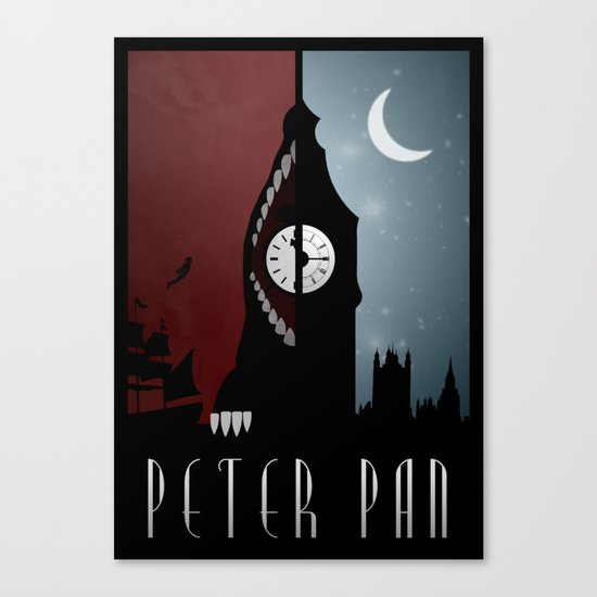 Peter Pan Canvas Print