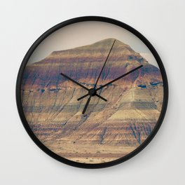 Petrified Desert Wall Clock