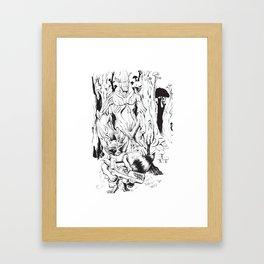 GOTG Illustration Framed Art Print