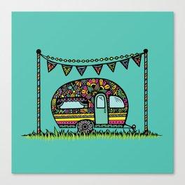 Little Camper  Canvas Print