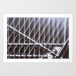 Geometric Distortions - 1 Art Print