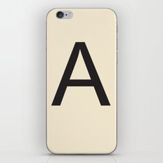Scrabble A iPhone & iPod Skin