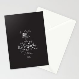 New York is always a good idea! Stationery Cards