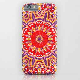 Oriental Kaleido 9 iPhone Case