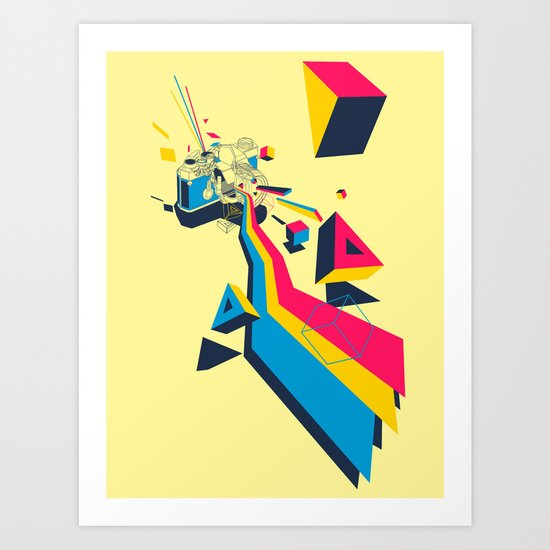 lenspectrum Art Print